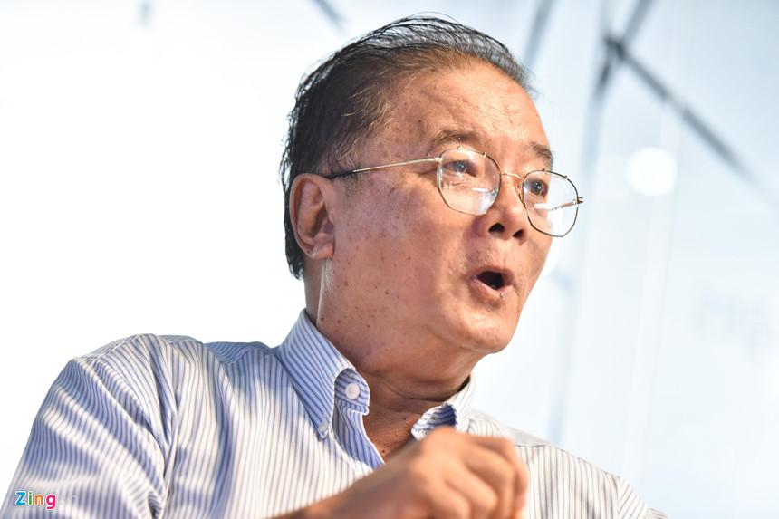 Nhà báo Danh Đức. Ảnh: Thuận Thắng.