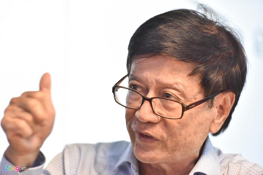 TS Võ Kim Cương, nguyên Phó kiến trúc sư trưởng TP.HCM. Ảnh: Thuận Thắng.