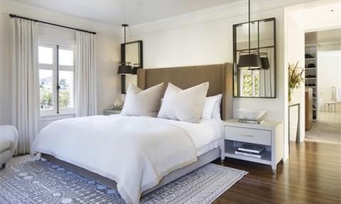 Thử mà xem, phòng ngủ nhà bạn sẽ đẹp bội phần nhờ đèn thả trang trí