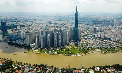 Thị trường nhà chung cư tại phía Đông TP HCM. Ảnh: Trần Quỳnh
