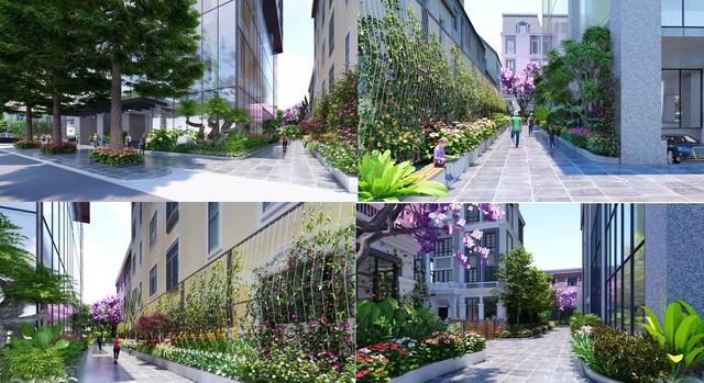 Cảnh quan dự án Bohemia Residence