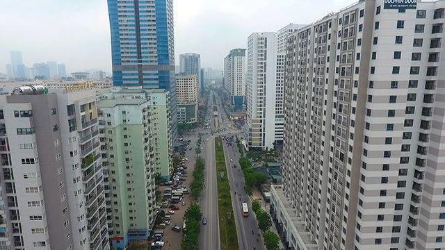 Cận cảnh hàng loạt dự án căn hộ trên tuyến đường mới Tố Hữu (Hà Đông) Hà Nội