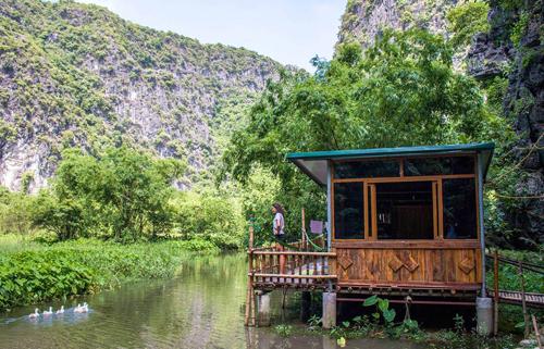 Một homestay tại Ninh Bình. Ảnh: Chezbeo