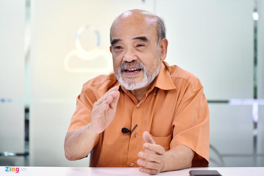 GS Đặng Hùng Võ, nguyên Thứ trưởng Bộ Tài nguyên và Môi trường. Ảnh: Hoàng Hà.