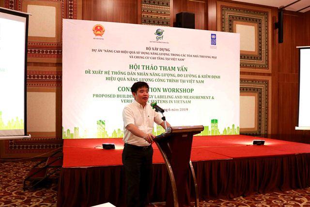 Phó Vụ trưởng Vụ KHCN Nguyễn Công Thịnh phát biểu khai mạc Hội thảo