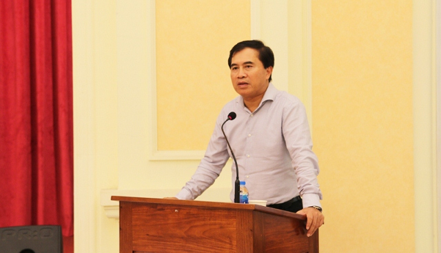 Thứ trưởng Bộ Xây dựng Lê Quang Hùng đã chủ trì cuộc gặp mặt báo chí nhân kỷ niệm 94 năm Ngày Báo chí cách mạng Việt Nam