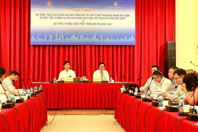 Thứ trưởng Nguyễn Đình Toàn chủ trì buổi Hội thảo