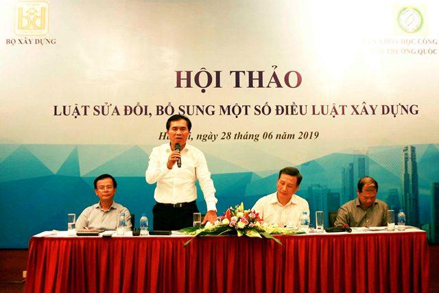 Thứ trưởng Lê Quang Hùng phát biểu kết luận Hội thảo