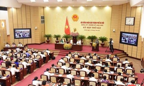 HĐND TP Hà Nội xem xét việc điều chỉnh địa giới hành chính 3 quận nội thành