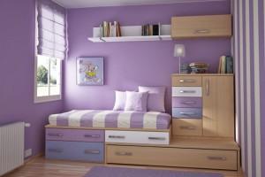 Thiết kế căn phòng ấn tượng cho trẻ trên những gam màu khác nhau