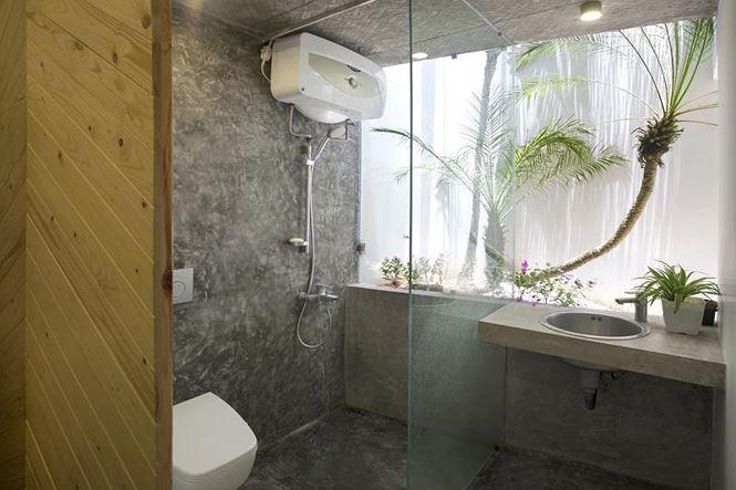 Kính giúp bảo vệ sự riêng tư cho phòng tắm