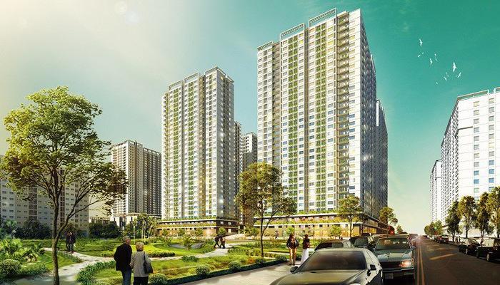 Hai tòa NO2 - NO3 thuộc dự án EcoHome 3 là công trình nhà ở xã hội đầu tiên tại Việt Nam đạt được chứng chỉ xanh quốc tế EDGE do Tổ chức Tài chính Quốc tế IFC/Ngân hàng Thế giới cấp