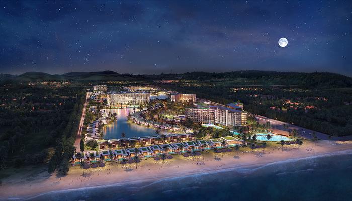 Nằm tại bãi Ông Lang, Condotel Mövenpick Resort Waverly Phú Quốc do MIKGroup phát triển là dự án bất động sản nghỉ dưỡng được kì vọng sẽ mang lại lợi nhuận lớn cho các nhà đầu tư