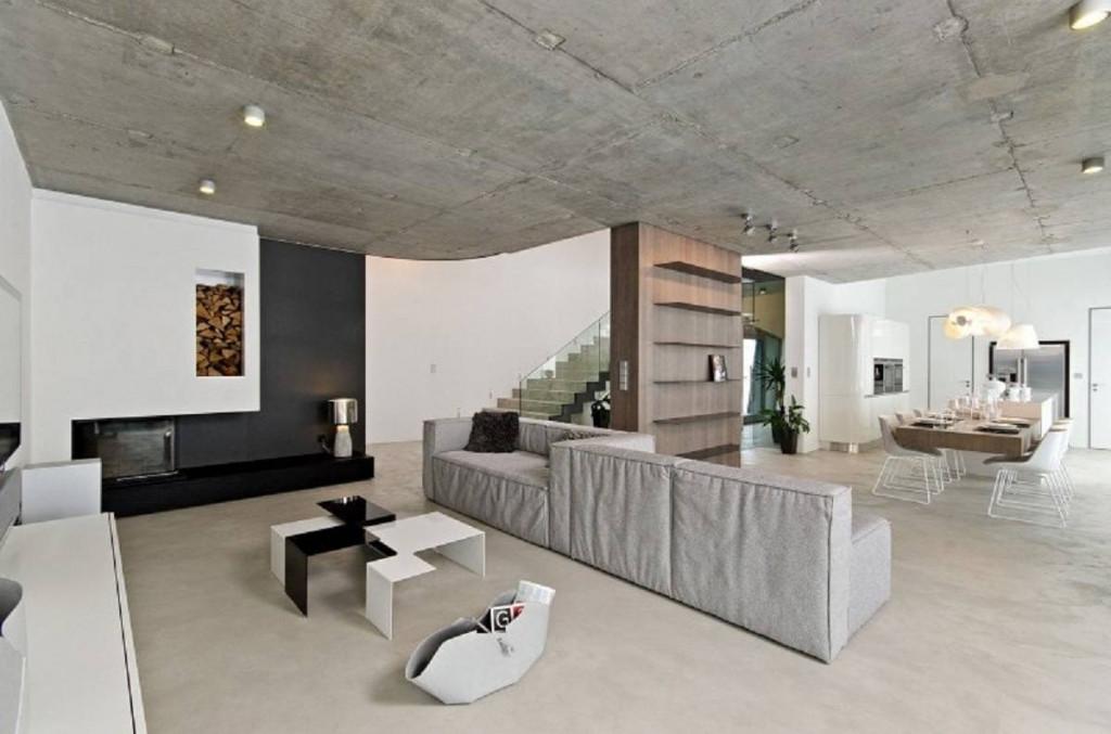 Sàn không thiết kế dầm ngang nên không cần sử dụng nhiều cột và giúp tạo không gian thoáng đãng