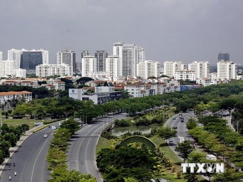 Điều chỉnh Quy hoạch chung Thành phố Hồ Chí Minh. Ảnh: TTXVN