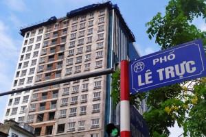 Ông Nguyễn Đức Chung có đập bỏ tòa nhà 8B Lê Trực được không?