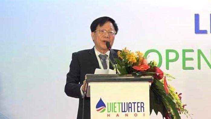 Chủ tịch Hội Cấp thoát nước Việt Nam – ông Cao Lại Quang