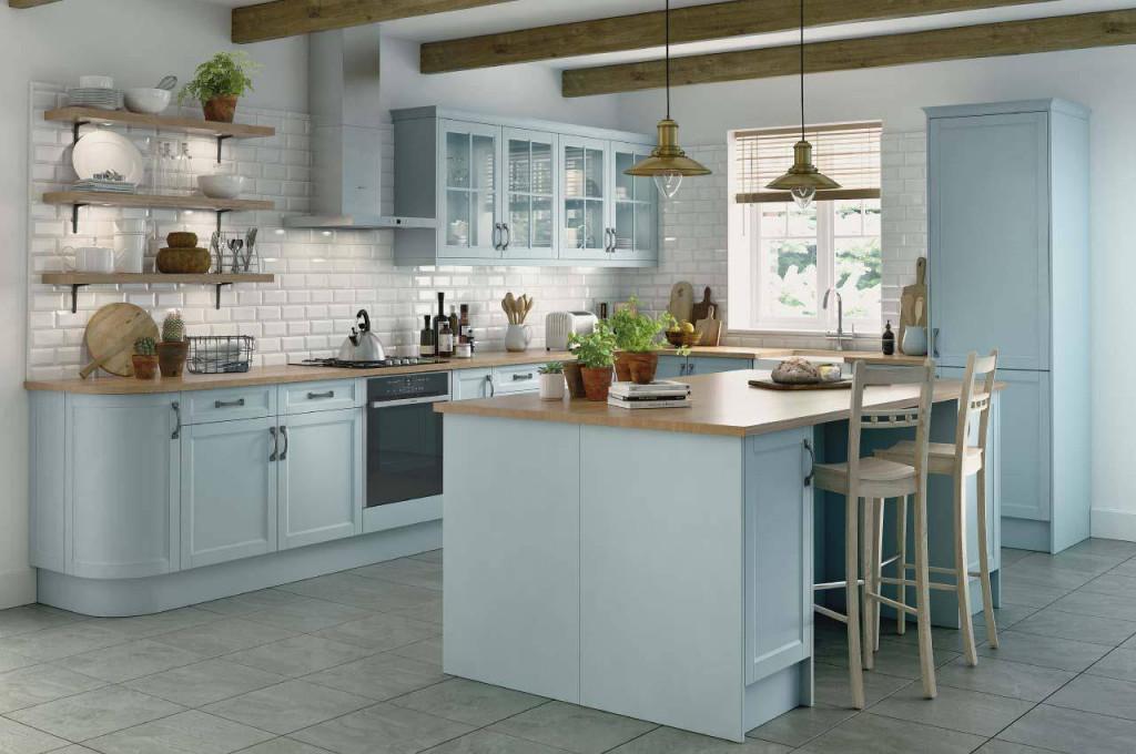 Làm sạch tường phía sau bếp không khó mà lại thay đổi đáng kể bộ mặt căn bếp