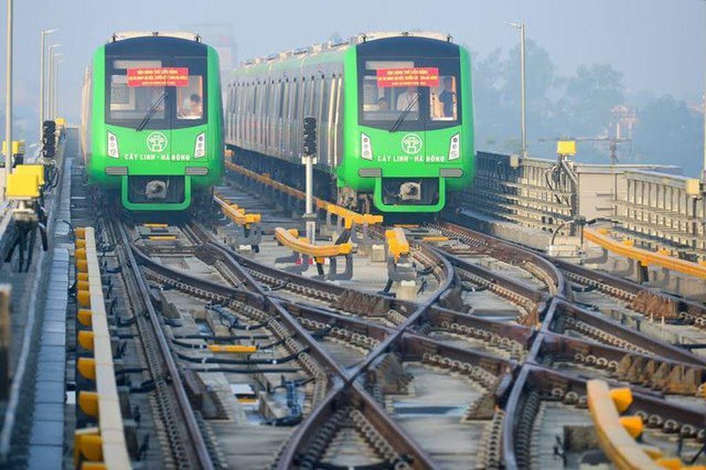 Tuyến đường sắt Cát Linh - Hà Đông chưa hẹn ngày về đích