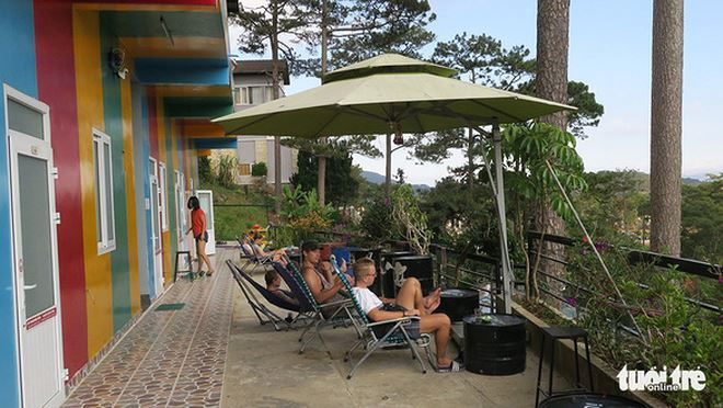 Điểm lưu trú dạng homestay trên đường Đặng Thái Thân, TP Đà Lạt có giá 89.900 đồng/người/đêm bao ăn sáng - Ảnh: T.T.D.