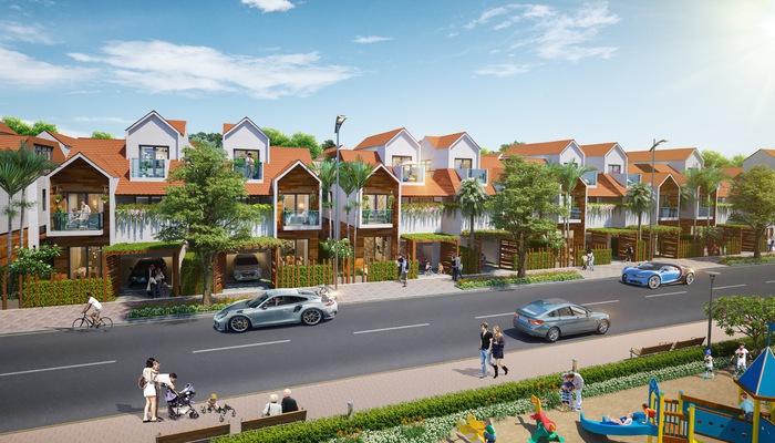 Phối cảnh dự án Long Thành Central do Công ty Asia New Time phát triển