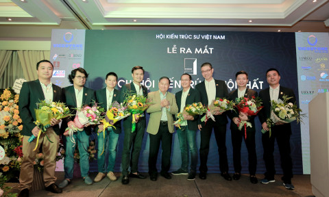 Ra mắt Chi hội Kiến trúc – Nội thất – Hội Kiến trúc Sư Việt Nam