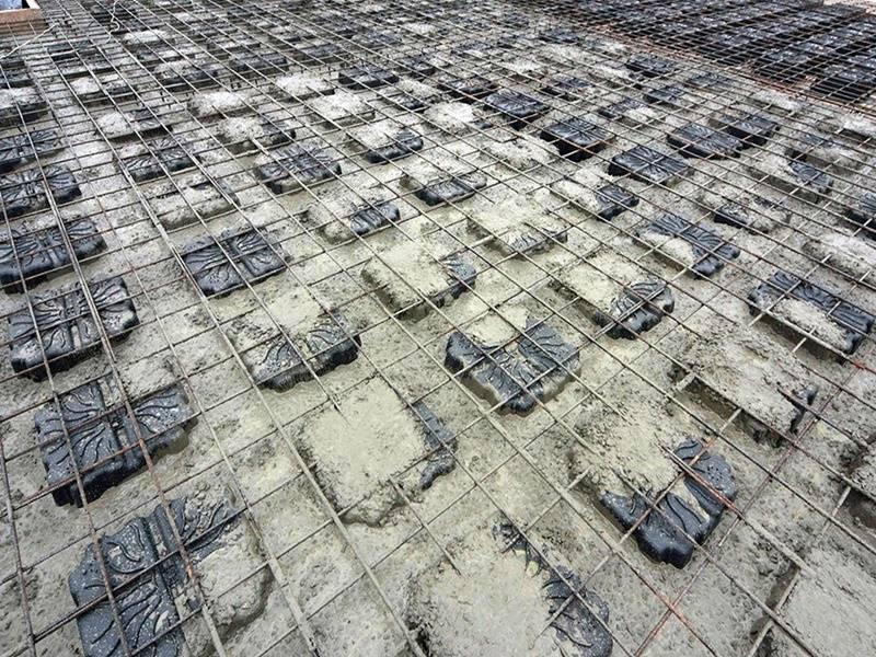 Trong xây dựng nhà cao tầng sản NEVO được ứng dụng rộng rãi