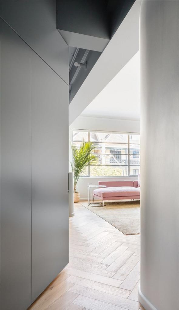 Phông nền trung tính tạo sự thư giãn cho căn hộ ở Sydney