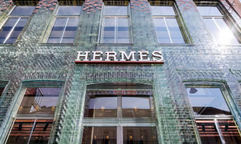 Hermès tiếp quản Crystal House của MVRDV tại Amsterdam