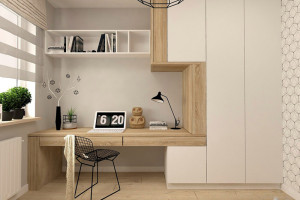 Ý tưởng bố trí phòng làm việc tại nhà tiện nghi