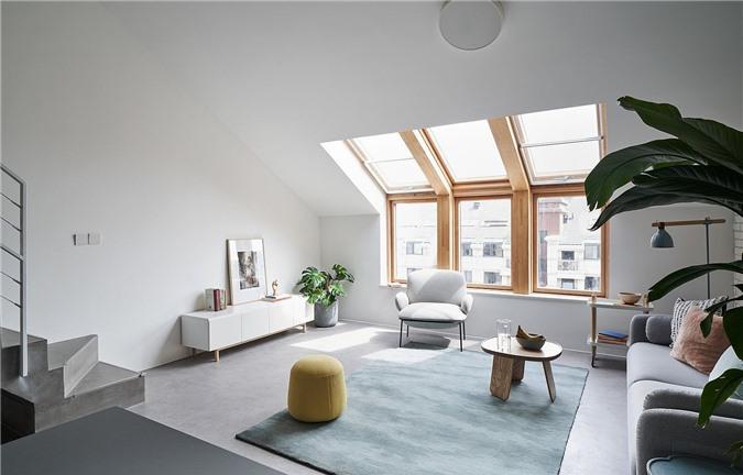 Phòng khách tối giản mang phong cách Scandinavia