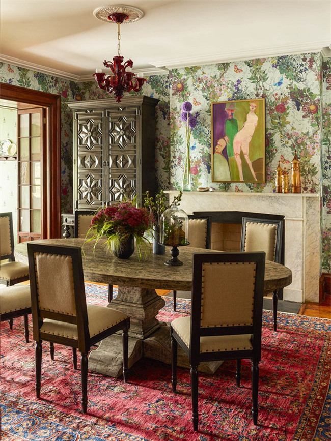 Chỉ cần khéo léo đôi chút trong việc sử dụng màu sắc thôi là bạn đã dễ dàng tạo ra nét đẹp riêng của không gian sống gia đình rồi