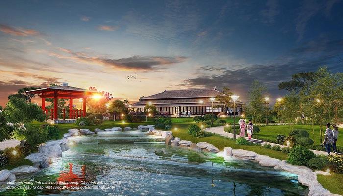"""Ngày 29/7/2019, Công ty Cổ phần Vinhomes công bố triển khai xây dựng Vườn Nhật hơn 6 ha tại đô thị thông minh Vinhomes Smart City. Với quy mô lớn nhất Việt Nam - vườn Nhật Vinhomes Smart City sẽ là điểm nhấn cho khu đô thị, đồng thời là điểm tham quan mới lạ tại khu vực phía Tây Hà Nội. Dự kiến, Vườn Nhật Vinhomes Smart City sẽ được hoàn tất và khai trương vào tháng 9/2019. Vườn Nhật truyền thống được coi là đỉnh cao của nghệ thuật sân vườn, mang tới không gian tĩnh tại, an lạc và là biểu tượng của tinh thần Á đông. Các quốc gia phát triển như Mỹ, Canada, Pháp… đều kiến tạo những khu Vườn Nhật nổi tiếng, thu hút hàng triệu lượt khách du lịch mỗi năm. Nhằm mang tới cho cư dân một cuộc sống viên mãn; và góp phần kiến tạo cho phía tây thành phố một điểm tham quan xứng tầm - Công ty Cổ phần Vinhomes quyết định đầu tư xây dựng Vườn Nhật có quy mô lớn nhất Việt Nam tại Đại đô thị thông minh Vinhomes Smart City. Công trình có diện tích hơn 6 ha, được kiến tạo theo mô hình Vườn Nhật truyền thống với đầy đủ các hạng mục gồm: quảng trường, cầu gỗ đỏ, suối và hồ cá chép đỏ, vườn thiền, công viên đèn lồng, chòi gỗ, khu rừng tre trúc, núi giả, thác nước, nhà hàng Nhật. Bên cạnh các cảnh quan được bài trí tinh tế, Vườn Nhật Vinhomes Smart City còn thiết kế khu trò chơi ninja cổ truyền độc đáo với các trò phi tiêu, leo vách núi và trò mê cung, tạo không gian giải trí, thư giãn lành mạnh, gắn kết các thành viên gia đình. Đặc biệt, điểm nhấn chủ đạo của Vườn Nhật Vinhomes Smart City sẽ là con đường đèn lồng với hàng trăm chiếc đèn lồng lung linh huyền ảo theo phong cách Nhật Bản. Dự kiến, con đường đèn lồng sẽ tái hiện những lễ hội đèn lồng truyền thống nổi tiếng của xứ sở Phù Tang, mang tới những buổi tối vui vẻ và trải nghiệm thú vị cho cư dân cũng như du khách. Bà Lê Thu Trang, Giám đốc kinh doanh, đại diện Công ty Cổ phần Vinhomes cho biết: """"Bên cạnh phong cách sống thông minh, chúng tôi còn mong muốn mang đến cho cư dân Vinhomes Smart City những một không gian sống chất lượng, """