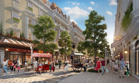 """Giới địa ốc Hà Nội """"đón sóng đầu tư"""" với Sun Plaza Grand World – Shophouse Europe"""
