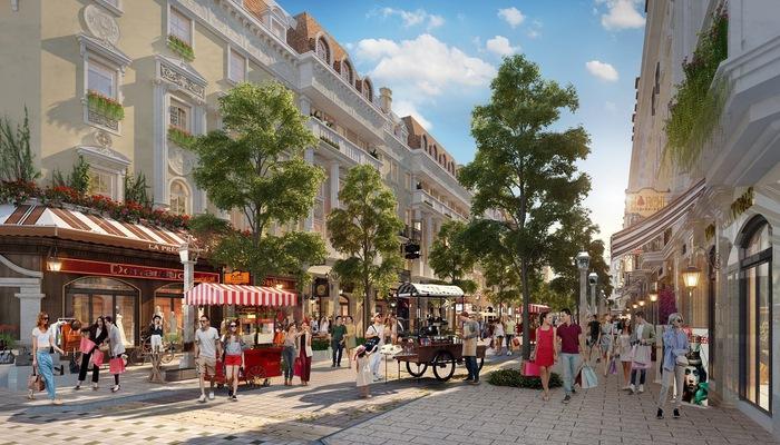 Tiểu khu Élyseé - Shophouse Europe dự kiến đi vào hoạt động từ cuối năm nay