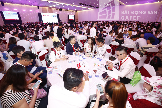 Một dự án ở Bình Phước, giao dịch ghi nhận đạt 100% ở lần mở bán. Ảnh: Hạ Vy