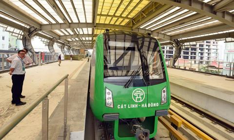 Đường sắt Cát Linh-Hà Đông đội vốn 205%, thực hiện chắp vá và rủi ro chất lượng