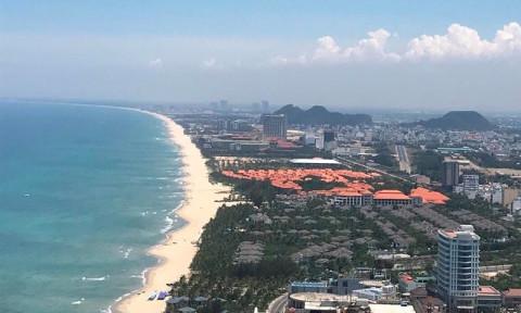 Đà Nẵng đang là một thành phố biển rụt rè