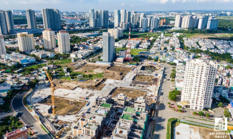 TPHCM: Nguồn cung bất động sản sụt giảm mạnh, vốn ngoại vẫn tiếp tục đứng đầu cam kết rót vào địa ốc