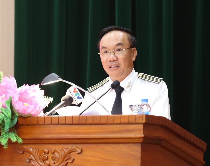 Phó Tổng Kiểm toán Nhà nước Đoàn Xuân Tiên. (Ảnh: SAV)