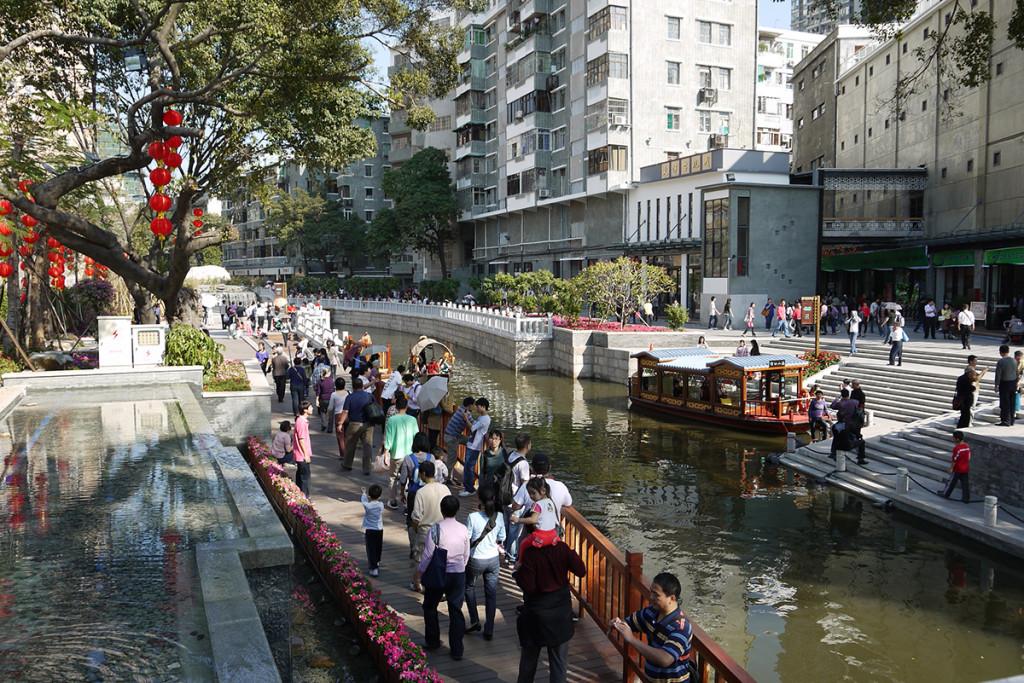 Không gian kênh rạch tại Guangzhou - Trung Quốc (Nguồn: Karl Fjellstrom)
