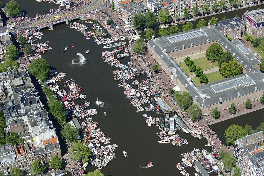 Không gian kênh rạch tại Amsterdam - Hà Lan (Nguồn: Bram van de Biezen)