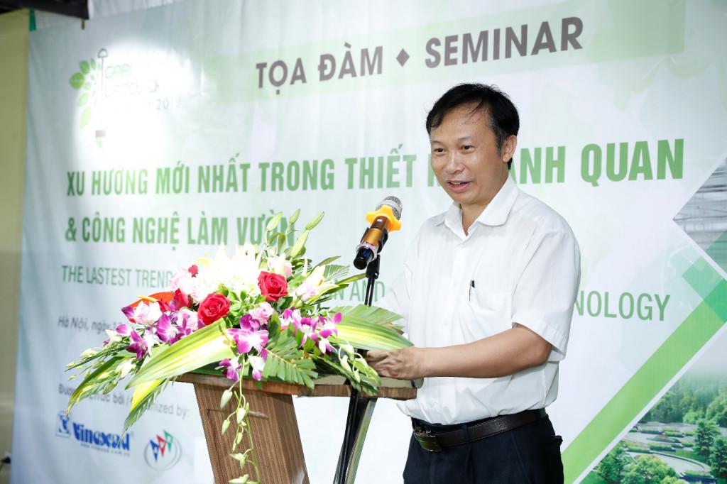 Ông Đặng Văn Đông – Phó Viện Trưởng Viện Nghiên Cứu Rau Quả - Bộ Nông Nghiệp & PTNT