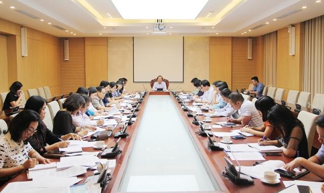 Bộ Xây dựng đã tổ chức họp bàn về Kế hoạch tổ chức lập Quy hoạch hệ thống đô thị  và nông thôn quốc gia giai đoạn 2021 – 2030,tầm nhìn đến năm 2050
