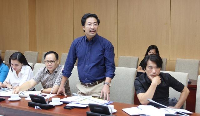 Viện trưởng VIUP Lưu Đức Cường đóng góp ý kiến cho Dự thảo Quy hoạch hệ thống đô thị và nông thôn quốc gia