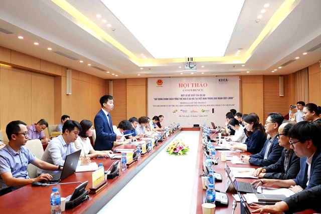 Phó Cục trưởng Hà Quang Hưng phát biểu tại Hội thảo