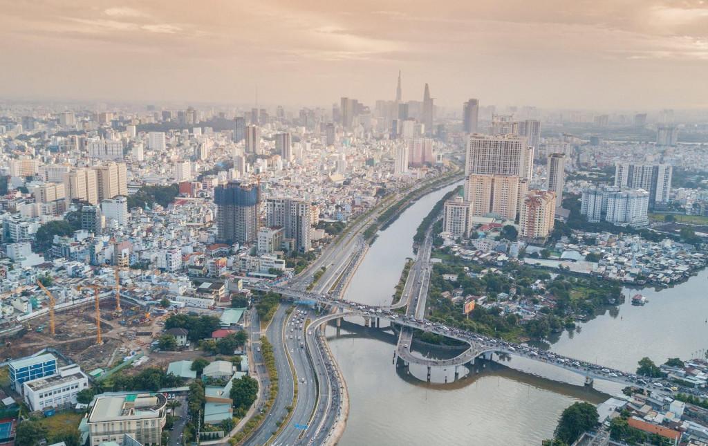 Hệ thống kênh nội đô TPHCM được  cải tạo  góp phần tạo dựng hình ảnh đô thị sông nước