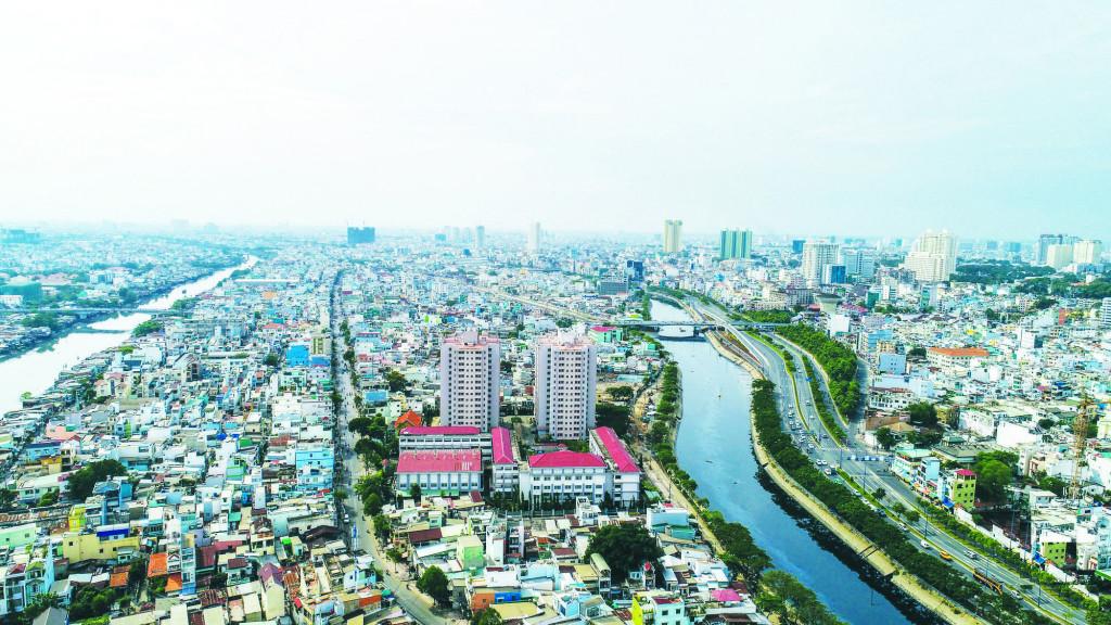 Không gian nhà ở hiện hữu ven kênh Nhiêu Lộc - Thị Nghè