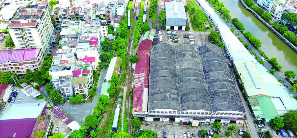 Công trình hạ tầng cũ cần được quản lý chặt chẽ việc chuyển đổi sử dụng đất   trong quá trình quy hoạch chỉnh trang kênh Nhiêu Lộc - Thị Nghè