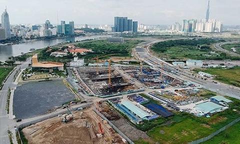 Kêu gọi đầu tư khu thương mại ngầm Khu đô thị mới Thủ Thiêm